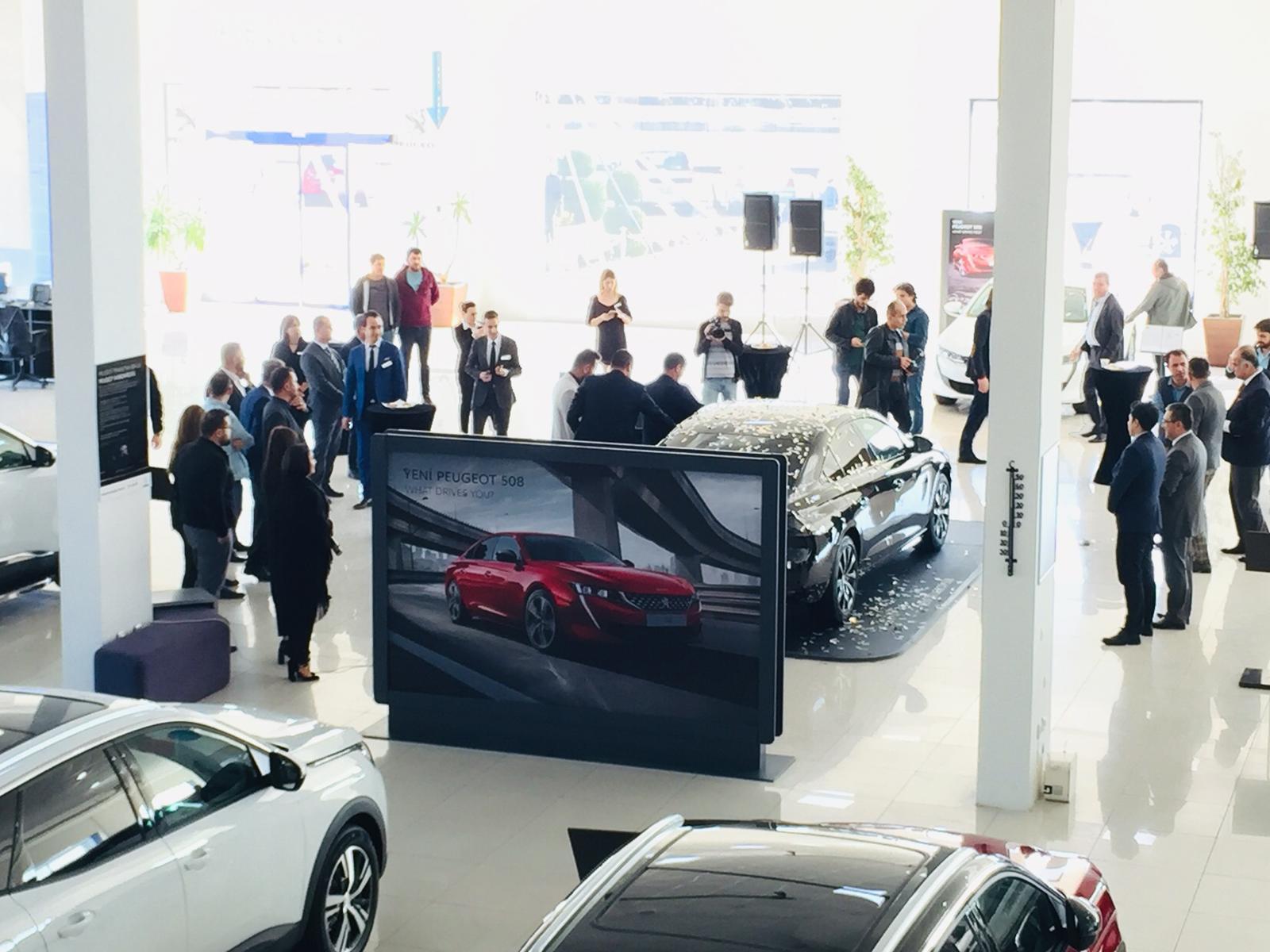 Yeni Peugeot 508 Tanıtımı Yapıldı