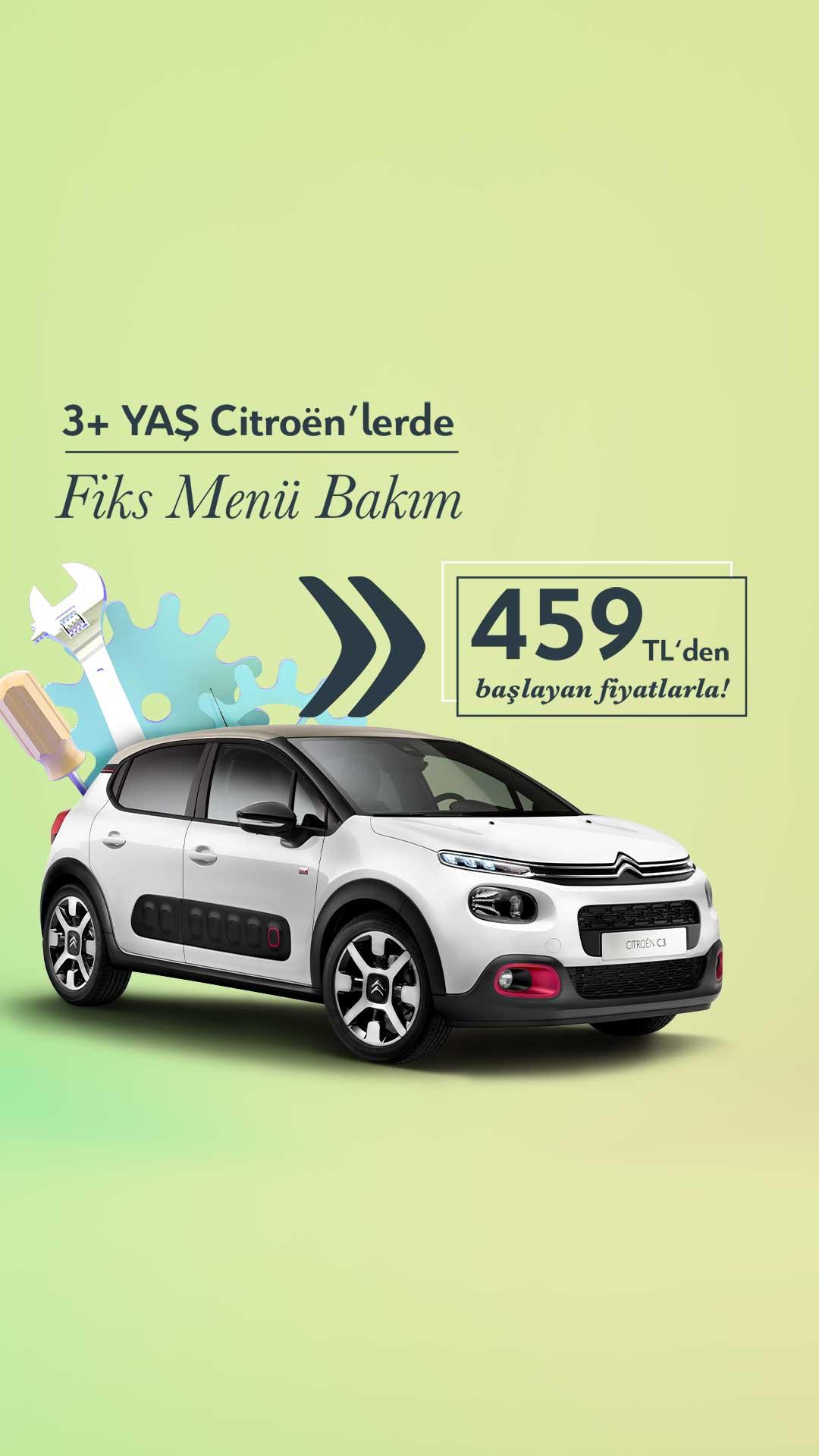 CITROEN - 3+ YAŞ FİX MENU